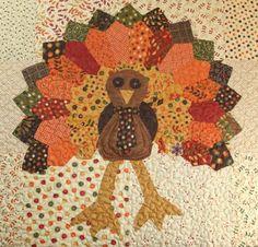 Dresden Turkey tutorial from the Missouri Star Quilt Company.
