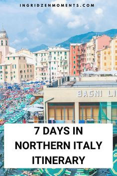 7 days in Italy - my perfect Northern Italy itinerary including all the places to see in Italy see Italy by train and stop in the best locations. Things To Do In Italy, Places In Italy, Europe Destinations, Italy Travel Tips, Travel Europe, Usa Travel, Visit Italy, France, Northern Italy