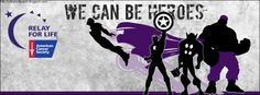 Relay Facebook Covers (Theme: Superheroes) | Relay Wallpaper