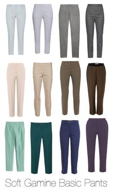 """Soft Gamine Basic Pants"" by riyaa ❤ liked on Polyvore featuring Weekend Max Mara, Dolce&Gabbana, STELLA McCARTNEY, Agnona, The Row, Les Copains, Sportmax, J.Crew, MANGO and Michael Kors"