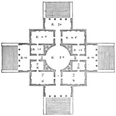 "Villa Capra ""La Rotonda"", Vicenza, Italy, 1592 Andrea Palladio"