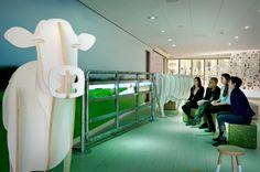 Inspiratie - 3D koe - Thinker voor Friesland Campina