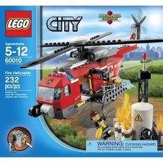 LEGO City Fire Helicopter 60010 - Discount Toys USA