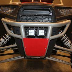Polaris RZR 800 RZR 800S 2011-2013 Front Bumper heavyduty Anodized BLACK//SILVER