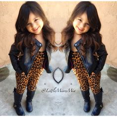 I like this look for a older girl like tween age. She looks cute just a little to grown for me.