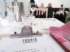 Repéré Amsterdam: pop-up restaurant (and bar downstairs) at Prinsengracht, Amsterdam (until end of March 2014)