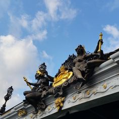 Who doesn't love an ornate bridge?! #paris #travel #wanderlust