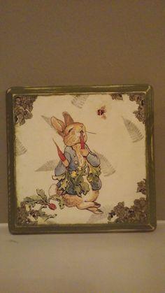 Peter Rabbit Beatix Potter Vintage Nursery by SilverJewelsByCindy