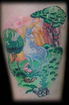 The Last Unicorn tattoo. i love this movie!