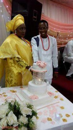 Photos from Yoruba actress Tolulope Labinjohs wedding