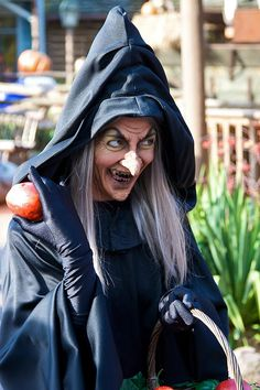 DLP Oct 2009 - Meeting Snow Witch by PeterPanFan, via Flickr