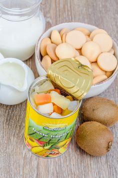 Tort diplomat cu fructe tropicale - Din secretele bucătăriei chinezești Cantaloupe, Cereal, Tropical, Breakfast, Food, Meal, Eten, Meals, Breakfast Cereal