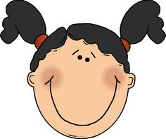 Free download Cartoon Girl Face Clipart for your creation.