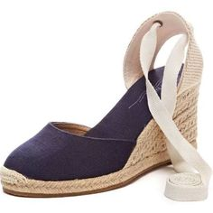 8729356afe3d SOLUDOS Clarice Lace Up Espadrille Wedges from Stitch Fix. https   www.