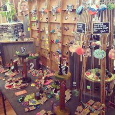 flock curiosity assembly have a crazy mixed up stall that's fun to explore - or stand in front of looking stunned.... really fun resin pieces! (melbourne australia