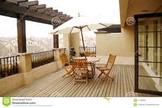 Glass Table, Table And Chairs, Terrace, Patio, Sculpture, Dining, Outdoor Decor, Pictures, Image