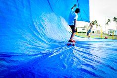 tarp surfing | Tarp Surfing : Amber Mozo