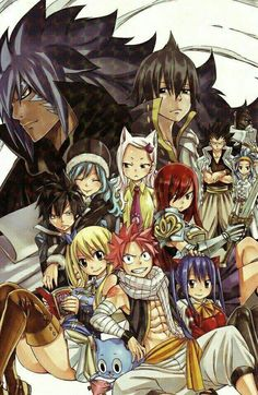 I read this volume! I cried when the guild got back together!