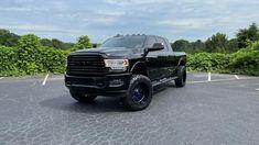 🔥 Ram 3500 Lifted 🔥 22x12 Fuel Stroke Gloss Black Blue • 37x12.50-22 Nitto Ridge Grappler • Road Runner Wheels & Tires 1585 Roswell Road Marietta, Ga 30062 Tel: 866-967-8126 • #RoadRunnerWheels #GetLifted #Atlanta #ram3500cummins #ram #nitto #fuelwheels #bluewheels Nitto Ridge Grappler, Rims And Tires, Road Runner, Atlanta, Monster Trucks, Wheels, Blue