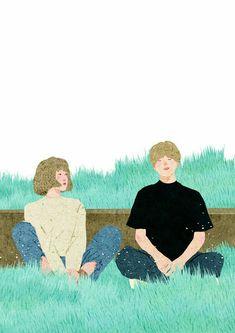21 New Ideas for wedding couple drawing simple Couple Illustration, Illustration Art, Couple Drawings, Art Drawings, Cover Wattpad, Cute Couple Art, Korean Art, Cartoon Wallpaper, Anime Art Girl