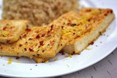 Lemon Pepper Tofu - For The Love of Food Blog