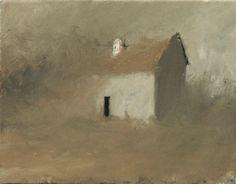 Victor Mirabelli, American, b. Wenatchee, Washington, Impressionistic landscape, Silent Surroundings