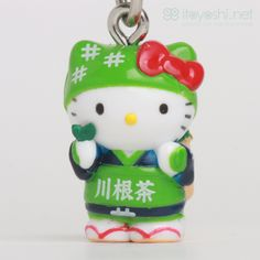 itoyoshi's Gotochi Kitty collection NO.1718 Kanto Area Shizuoka prefecture Limited Kawane Green Tea Hello Kitty