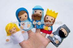 natividad fieltro títeres de dedo-Títeres/Marionetas-Identificación del producto:605178135-spanish.alibaba.com