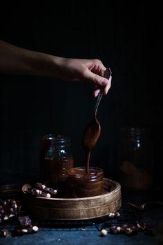 Chocolate Hazelnut Spread {gluten, dairy, refined sugar free} - The Kitchen McCabe