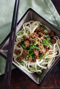Dan Dan noodles, looking forward to @Uyen Luu 's take on them!