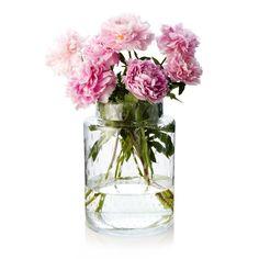Bubble Vase peonies