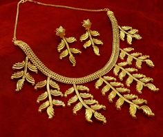 18K Gold plated Traditional Indian 2 PC #Necklace