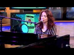 Regina Spektor - The Party Live on GMA 5.29.12. // she is amazing.