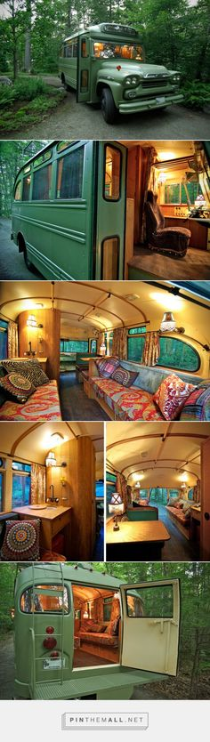 The Viking Short Bus Retro Is An Adventure Mobile From The Short Bus, Vintage Caravans, Vintage Trucks, Zoom Zoom, Shelters, Motorhome, Campers, Rat, Trailers