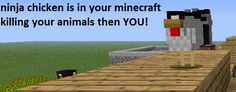 Minecraft Ninja Chicken Related Keywords & Suggestions - Minecraft ...