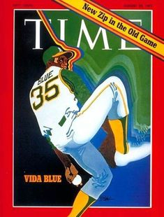 10 Great Baseball Magazine Covers: Time, August 28, 1971