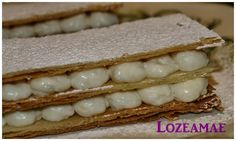 Milhojas de Mousse de Manzana Reineta