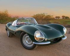 Jaguar XKSS. The last S stands for sex