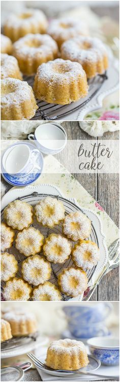 Butter cake recipe - simple and good! Use this for everything from layer cakes, to bundts, to cupcakes. Pairs perfectly with any kind of topping and it's super-simple to make! Desserts Keto, Mini Desserts, Just Desserts, Delicious Desserts, Cupcake Recipes, Baking Recipes, Cupcake Cakes, Dessert Recipes, Dessert Oreo