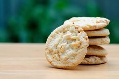 Cookies aux pépites de chocolat blanc et noix de coco