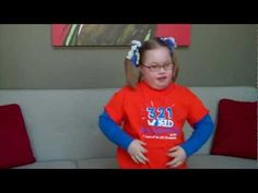 Really cute video from Ava promoting World Down Syndrome Day on 3/21!!