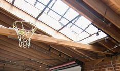 DIY Gold Basketball Hoop