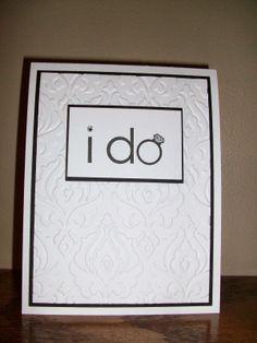 The Happy Stamper: Wedding card