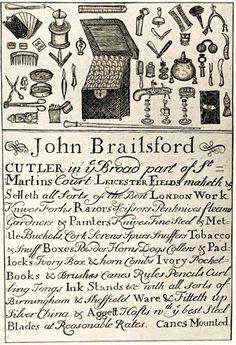 Cutler Trade Card