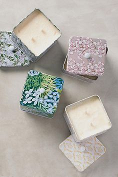 Lulie Wallace Tin Candle - anthropologie.com