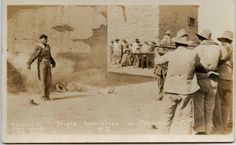 GRIM POSTCARDS OF EXECUTIONS AND DEAD BODIES FROM THE MEXICAN REVOLUTION 1910-17
