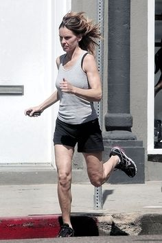 Hillary Swank,your body gets old but not your spirit,go girl,healthy is much more important then how your body looks like <3 it