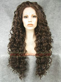 44.19$  Watch now - http://ali43f.worldwells.pw/go.php?t=1215185903 - N18-6/8#Top Quality Fiber Loose Curly Wigs Synthetic Lace Front Wigs 180% Density Black Color Heat Resistant Synthetic Hair Wigs 44.19$
