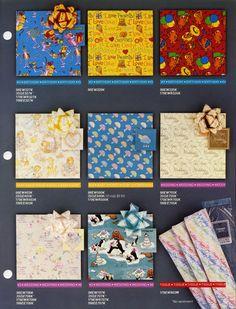Hallmark Ambassador - Gift Wrap catalog page 3 - 1984 | Flickr