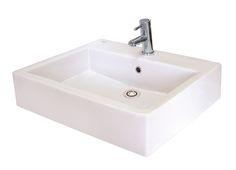 basin bathroom, above counter